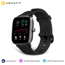 Amazfit GTS 2 Mini Smart Watch In Stock GPS IN-Build Global Version 5ATM Waterproof 14 Day Battery For Android Ios Phone