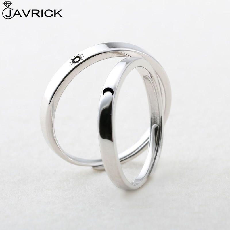 2 шт солнце и луна парные кольца для влюбленных набор обещаний обручальные кольца для него и ее ювелирный подарок