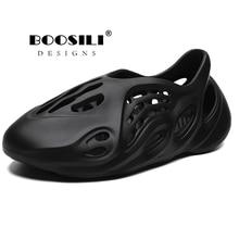 2020 New Mens Eva Garden Shoes Summer Sandals Breathable Clogs Lightweight Big Size 46
