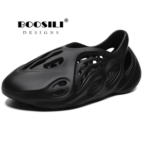 Image 1 - 2020 New Mens Eva Garden Shoes Summer Sandals Breathable Clogs Lightweight Big Size 46