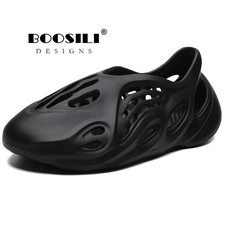 2020 New Mens Eva Sandal Garden Shoes Summer Sandals Breathable Clogs Lightweight Big Size 46