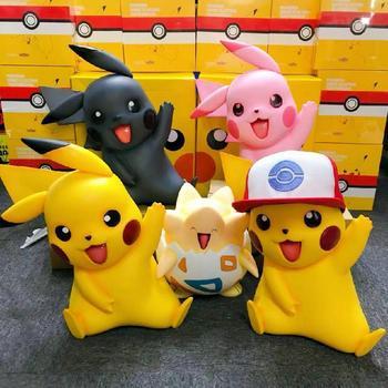 Pokemon Big Size Hat Pikachu Togepi Bulbasaur śliczne zabawki figurki akcji ręcznie robiony prezent urodzinowy ozdoby ozdoby kolekcje tanie i dobre opinie TAKARA TOMY lalki Adult Adolesce 4-6y 7-12y 12 + y 18 + CN (pochodzenie) Unisex 40cm Model Peryferyjne Japonia Produkty na stanie
