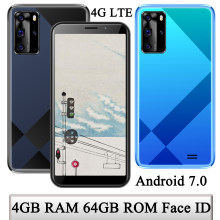 Smartphones 5i Android 7.0 Unlocked 4G RAM 64G ROM Face ID 5.5inch 4G LTE Global Version Mobile Phones 5MP+13MP Wifi Celulares