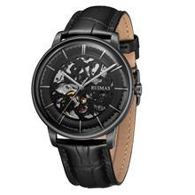 Men Watch Ruimas Relogio Masculino Automatic Watch Mechanical Wristwatch Waterproof Dial Leather Strap Men Gifts Clock 6765