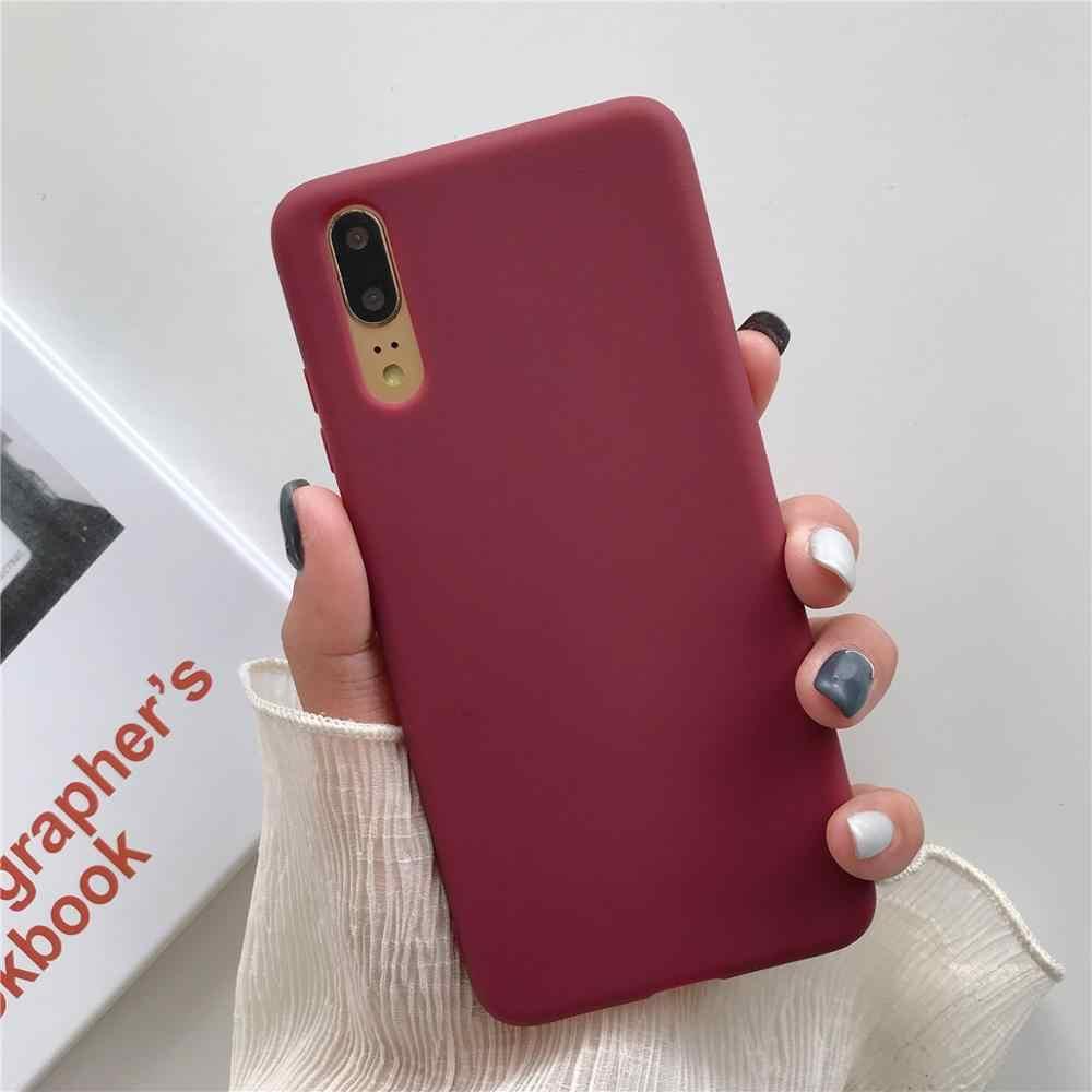 Permen Case untuk Xiaomi Redmi Note 4 4X 6A Note 7 Pro Case Silikon Lembut Warna-warni Coque untuk Xiaomi Xiomi redmi Note7 Pro Case Funda