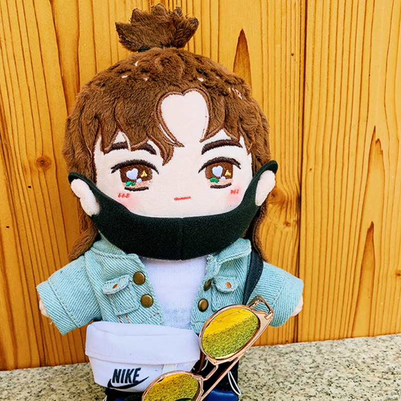 The Untamed 王一博 Wang Yibo Concert Plush 20cm Star Doll Clothes Toy Clothing Gift