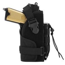 Tactical uniwersalny pistolet pistolet kabura 1000D Nylon Molle pistolet kabura przewoźnik dla Glock 1911 45 92 96 Sig P228