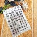 11*16 см Горячая продажа в год прозрачное уплотнение прозрачный штамп силиконовый валик для запечатывания штамп DIY альбом для скрапбукинга/пр...