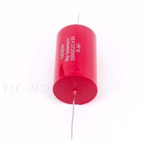 Image 5 - Audiophiler Mkp קבלים 50uf 250V DC 3% HIFI חום Electrodeless קבלים אודיו קבלים צימוד תדר חלוקת 50uf