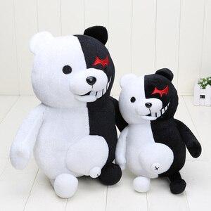 Monokuma peluche juguetes Super Danganronpa 2 Monokuma черный и белый медведь, плюшевая игрушка, мягкие куклы с животными, рождественский подарок