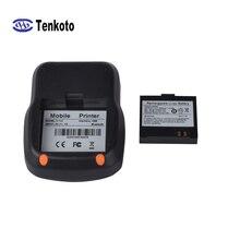 Bluetooth-принтер, мини-портативный принтер, фотопечать, размер 58 мм, бумажный счет-фактура, терминал печати документов