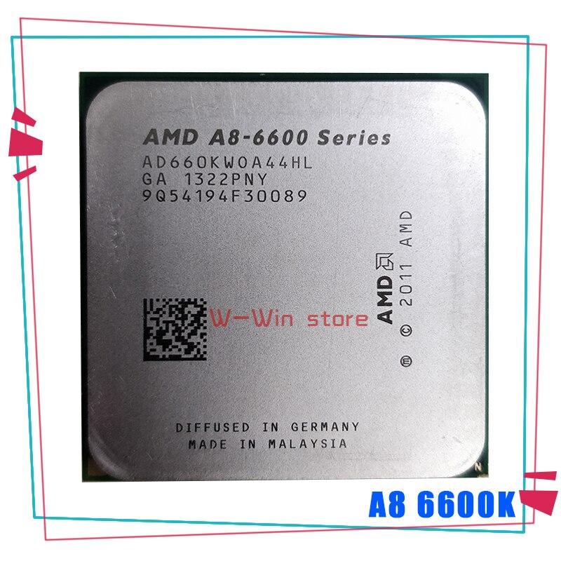 Процессор AMD A8 6600K A8 6600 3,9 ГГц, четырехъядерный процессор, процессор AD660KWOA44HL Socket FM2