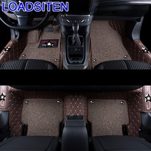 Auto Automovil Accessories Decoration Automobile Modification Interior Mouldings Styling Car Carpet Floor Mats FOR Peugeot 408