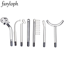 7Type Glass Tubes Replacement for High Frequency Electrotherapy Beauty Ray Wand Electrodes Violet Ray Wand Massager Spot Remover