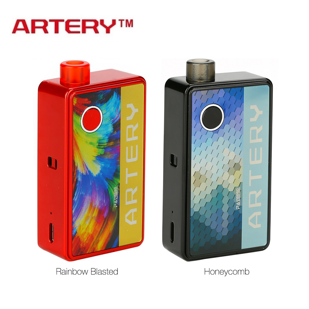 Newest Original Artery Pal 18650 Pod Kit With 3ml Pod Powered By One 18650 Battery Pod System Vs Vinci Mod Pod Kit/ Targert Pm80