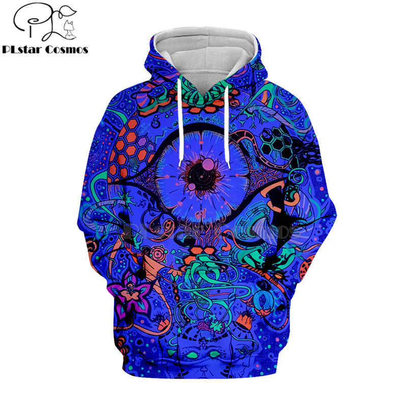 PLstar Cosmos Hippie Mandala Trippy Abstract Psychedelic Eye 3d Hoodies/Sweatshirt Winter Autumn Long Sleeve Streetwear-31