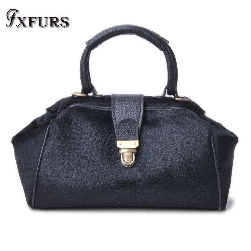 2019 New Foetal Cow Fur Handbags Leather Straw Bag High-end Lady's Handbag Autumn Fashion Bag Women Wrist Handbags Women Chain