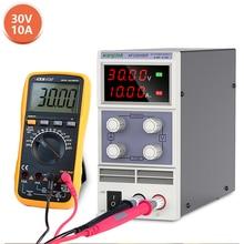 laboratory dc power supply adjustable voltage regulator stabilizer switching variable bench source 30v 10a ac 110v 220v wanptek