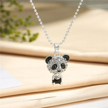Cina Yiwu squisita dei monili flash diamante panda collana di alta-end hollow pendente di disegno di modo(China)