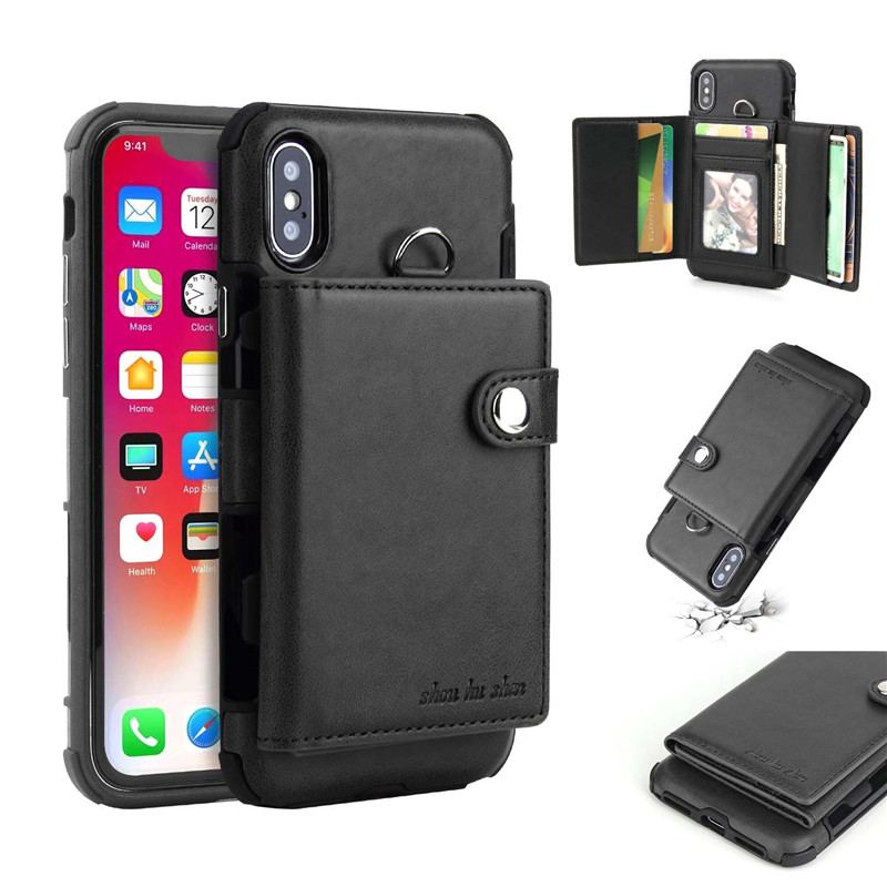 Hd8191105700a4467a3cac19f72eb27d9X Tikitaka Wallet Leather Phone Case For iPhone 6 6s Plus X XS XR Multifunction Card Slots Flip Cover For iPhone XS MAX 8 8 Plus