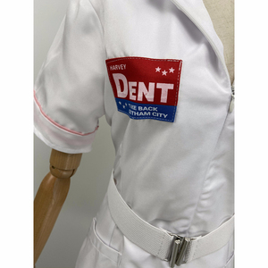 Image 3 - Movie BatMan Dark Knight Joker Nurse Cosplay Costume White Nurse Uniform Dress Men Women Halloween Fancy Dress