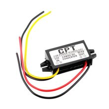 CPT-UL-1 Waterproof DC/DC Converter Regulator 12V To 5V 3A 15W Car Led Display Power CPT Car Power Step Down Regulator(China)