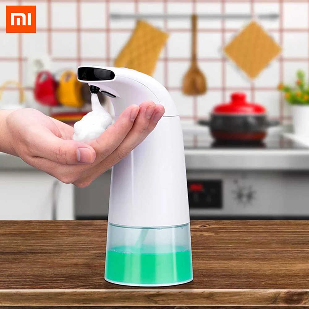 שיאו mi נוזל סבון Dispenser חכם אוטומטי אינדוקציה מגע קצף אינפרא אדום חיישן יד כביסה mi בית חכם בית