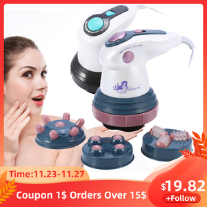 Full Body Slimming Shaper Massager Anti Cellulite Infrared Vibration Electric Fat Burn Massage Roller Weight Loss Beauty Machine