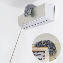 Bendable-Brush Duster House Extension Roof-Cleaning Long-Handle Washable Static Lengthen