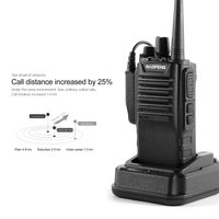 Dual Band FM Transceiver Portable Two Way Radio Walkie Talkie 136 174/400 520 MHz IP57 Dust Waterproof Frequency Reverse