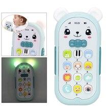 Ребенок телефон игрушка мобильный телефон ранний образовательный обучение машина дети подарки телефон музыка звук машина электроника ребенок игрушка