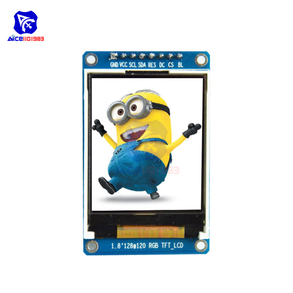0.96 Inch 1.14 Inch 1.3 Inch 1.44 Inch 1.5 Inch 1.8 Inch IPS TFT LCD Screen Display Module ST7735 SPI IIC For Arduino 51 STM32
