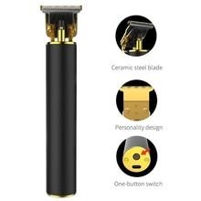 Pro Li akumulator trymer do włosów mężczyzn maszynka do włosów fryzjer maszyna wykończenie ścinanie włosów zestaw trymer do brody Razor krawędzi kontury