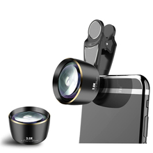 Distortionless 3.0X กล้องโทรทรรศน์ Telephoto เลนส์ 5K HD 85 มม.Camra Portrait สำหรับ iPhone Huawei สมาร์ทโฟนส่วนใหญ่ตลาด