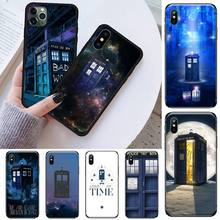 Tardis Box Doctor Who Phone Case for iPhone 11 12 mini pro XS MAX 8 7 6 6S Plus X 5S SE 2020 XR