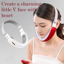 Face-Massager Micro-Current Slimming Lifting Reduce Ultrasonic Anti-Agin Double-Chin
