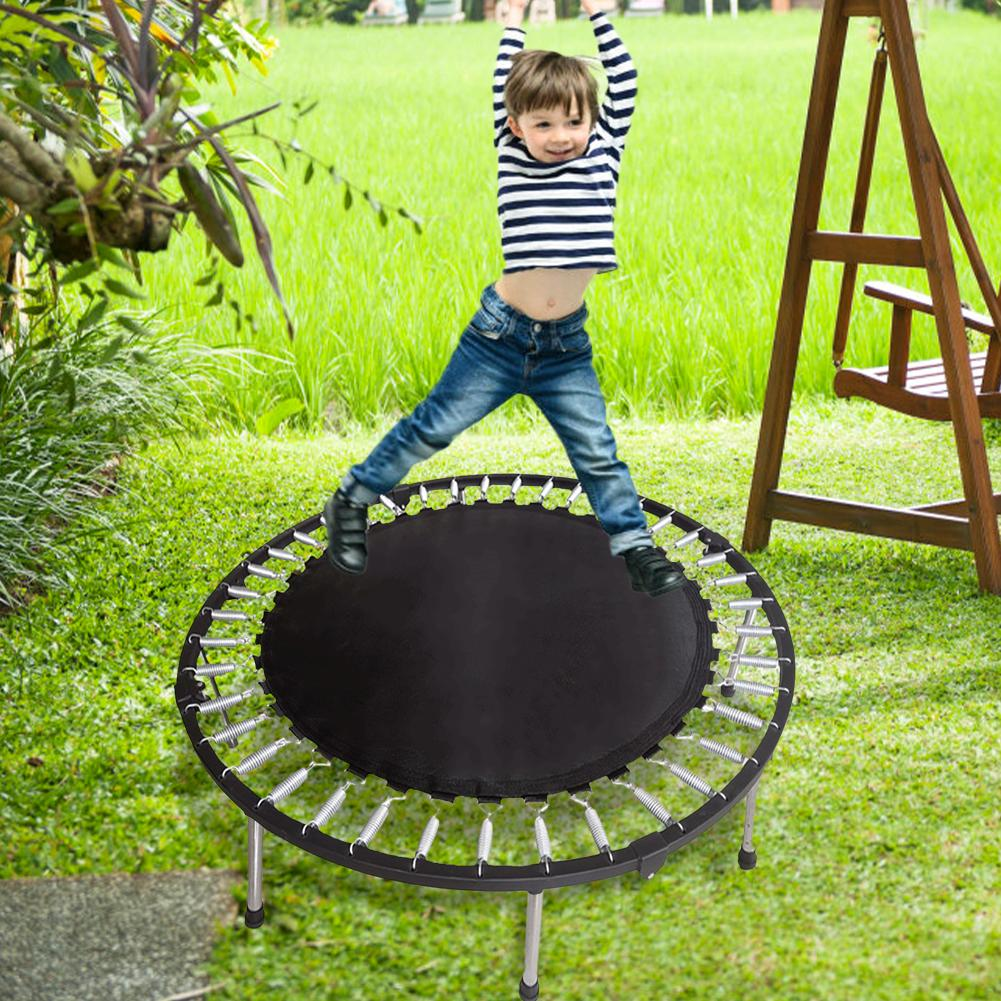 Trampoline Jumping Pad Elastic PP Material Trampoline Bounce Mat Play In Garden Backyard Replacement Mat For Trampoline