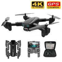 S167 GPS Drone Mit Kamera 5G RC Quadcopter Drohnen HD 4K WIFI FPV Faltbare Off-Punkt Fliegen fotos Video Eders Hubschrauber Spielzeug