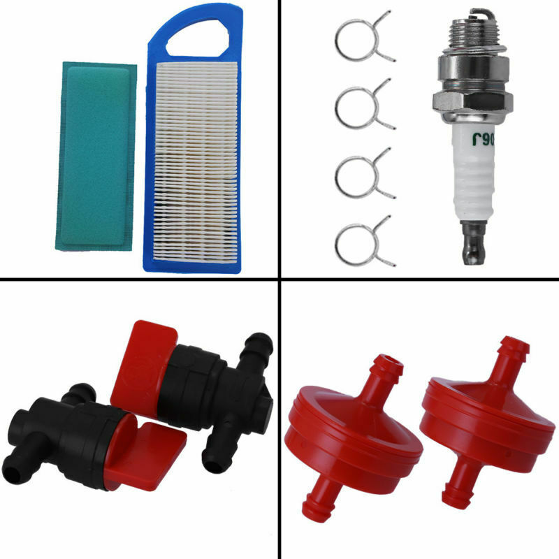 Lawn Mower Air Filter Kit Tools Tune Up Spark Plug For Craftsman LT1000