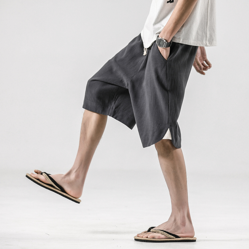 2020 Summer Shorts Men Fashion Multi-pockets Men's Cargo Shorts Straight Loose Casual Shorts Male Short Pants Streetwear