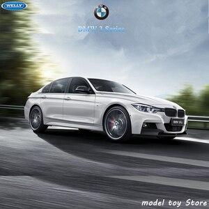 Image 2 - WELLY 1:24 BMW 335i sport auto simulation legierung auto modell handwerk dekoration sammlung spielzeug werkzeuge geschenk
