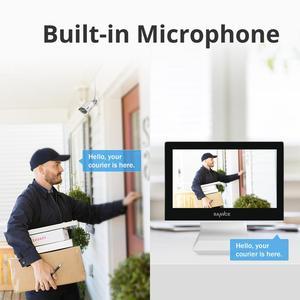 Image 5 - SANNCE 4 채널 와이파이 1080P ip 카메라 NVR CCTV 무선 카메라 시스템 4CH 와이파이 NVR 키트 와이파이 NVR 키트 CCTV 키트 1 테라바이트 HDD