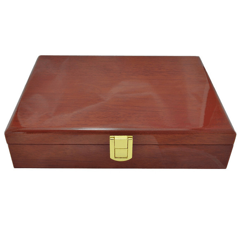 High Quality Cufflinks Gift Box Wooden Collection Display Box Storage  Box Capacity Jewelry Box