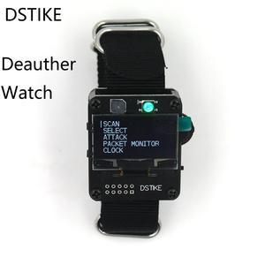 Image 1 - DSTIKE Deauther Watch ESP8266 ESP Watch Development Board Deauther Wristband Wifi Deauth