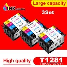 Ink-Cartridge SX130 SX425W Epson Stylus BX305F T1281-T1284 for S22/Sx125/Sx130/.. Printer