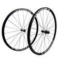 MEROCA MX25 колесо для дорожного байка набор V/C тормоз передний 20 задний 24 Отверстия прямой Pull 700C велосипедный 4 колесные диски