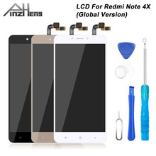 PINZHENG 100% AAAA Original LCD pour Xiaomi Redmi Note 4X écran LCD Version globale remplacement affichage Redmi Note 4X écran LCD(China)