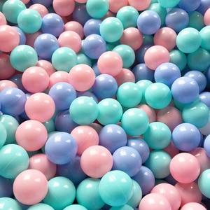 Image 3 - 50/100 Pcs écologique coloré balle fosse en plastique souple océan balle eau piscine océan vague balle jouets de plein air pour enfants enfants bébé