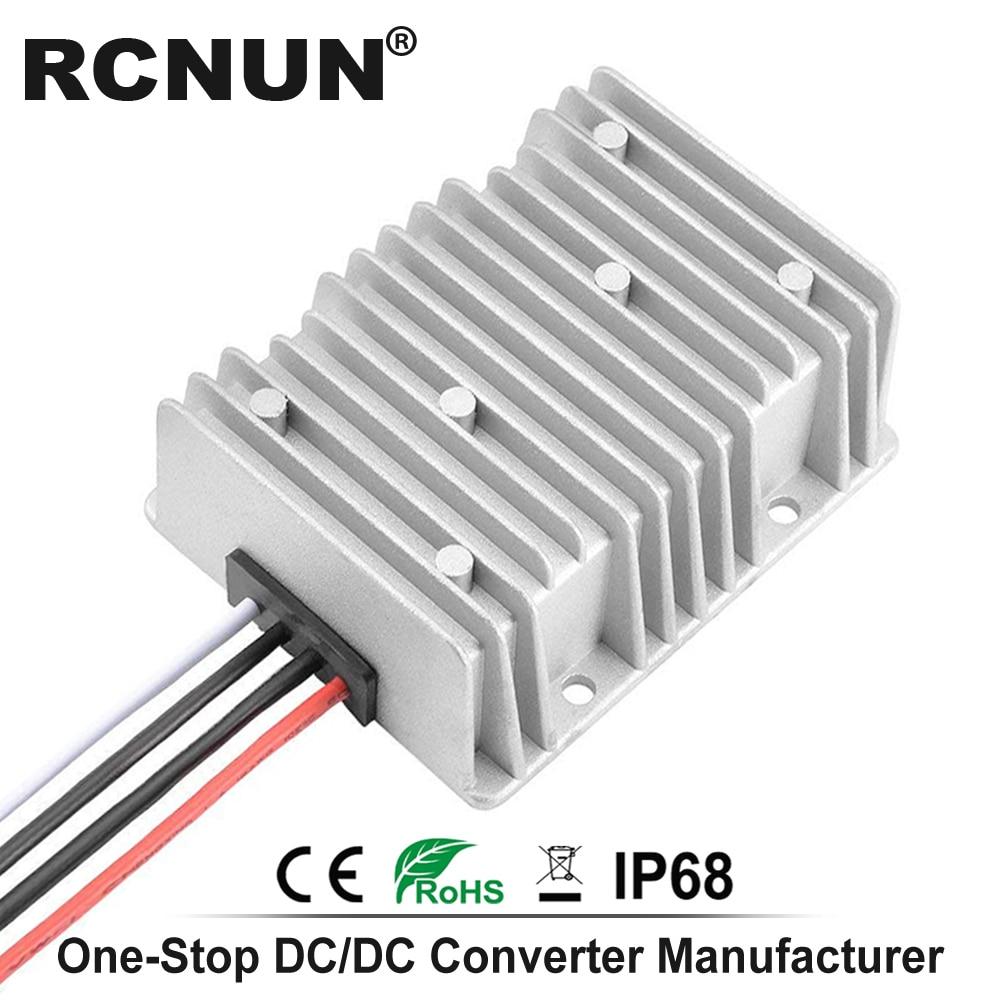 Impermeabile 48V a 24V 10A 15A 240W Riduttore di Tensione DC Step-Down convertitore 30-60V a 24V 10A DC Buck Converter Regard