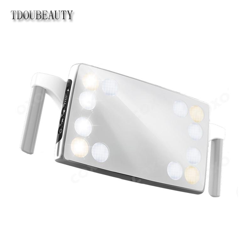 CX249 24 36W LED Schaduwloze dental lamp met 12 High Power Led lampen touch knop en sensor dual control schakelaar verstelbare 22MM - 3